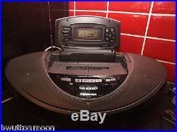 PANASONIC RX-ED707 PORTABLE STEREO, TAPE, RADIO & CD PLAYER VGC