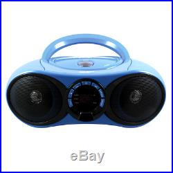 PORTABLE STEREO With BLUETOOTH RECEIVER CD/FM MEDIA PLAYER BOOMBOX RADIO