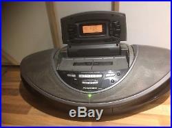 Panasonic'Cobra' RX-ED707 portable stereo system boombox Radio CD TAPE PLAYER