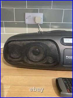 Panasonic Portable CD Player RX-DS45 BoomBox with remote
