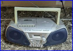 Panasonic RX-D10 Portable Cassette CD Player AM/FM Stereo Boombox Tested