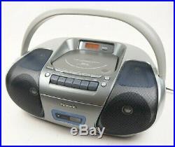 Panasonic RX-D29 CD Radio Cassette Player MP3 Stereo Portable Boombox