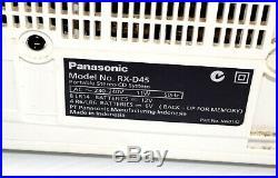 Panasonic RX-D45 Radio Portable Stereo CD Player Cassette Recorder AM/FM Boombox