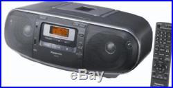 Panasonic RX-D55AEG-K Portable Stereo (CD Player, MP3 Playback)