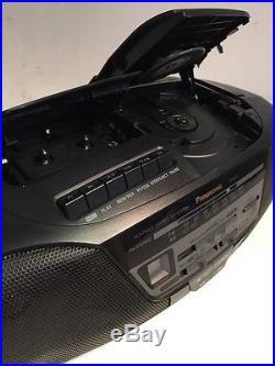 Panasonic Rx Ds11 Fm Am Radio Cd Cassette Tape Recorder