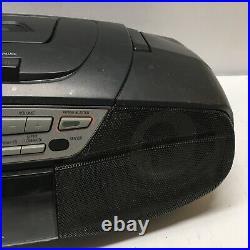 Panasonic RX-DS27 Power Blaster Boombox Portable Stereo CD Cassette Player