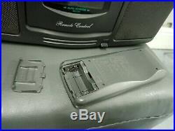 Panasonic RX-DS303 Radio Cassette Player portable Stereo Cd Boombox Retro