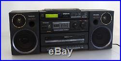 Panasonic RX-DT 680 Ghettoblaster Boombox Vintage Doppel Tape CD Radio