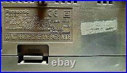 Panasonic RX-DT07 Boom Box Portable CD Player Twin Cassette / Radio Stereo