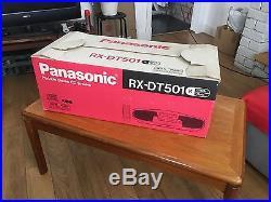 Panasonic RX-DT501 XBS Portable Radio CD Cassette Player Ghetto Blaster boom box
