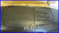 Panasonic RX-DT501 XBS Portable Radio CD Cassette Player Ghetto Blaster boombox