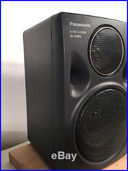 Panasonic RX-DT675 Portable Stereo Boombox Frnt Load CD Player S-XBS Tested Read