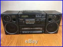 Panasonic RX-DT680 Portable FM/AM Radio CD Cassette Player Boombox No Remote