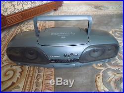 Panasonic RX-DT707 Portable Radio Cassette Tape CD Player Boombox Ghetto Blaster