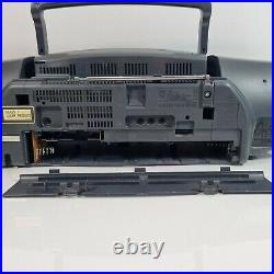 Panasonic RX-DT75 Boombox Portable Stereo CD Cassette Deck Radio Player