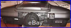 Panasonic RX-ED707 Portable Radio Cassette Tape CD Player Boombox GhettoBlaster