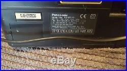 Panasonic RX-ED77 COBRA Portable Radio Cassette/Cd Player Boombox/Ghetto Blaster