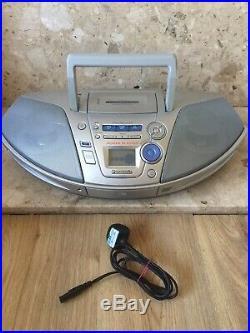 Panasonic RX-ES27 Portable Stereo Power Blaster Cassette, Radio & CD Player