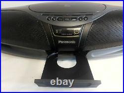 Panasonic Rx-dt75 Boombox Ghetto Blaster Portable Stereo CD Player Cobra