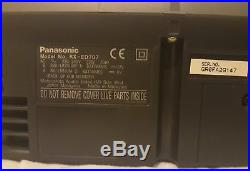 Panasonic Rx-ed707 Portable Stereo System Radio, CD And Tape Player
