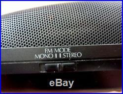 Panasonic SL-PH2 Portable CD AM/FM Radio & Clock Player Made in Japan