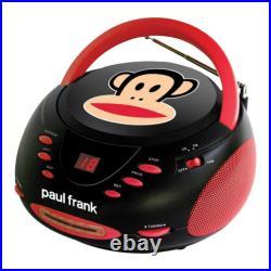 Paul Frank CD Player Radio Portable Audio Stereo music Boombox designer brand