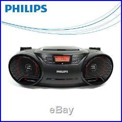 Philips AZ-3811 MP3 CD Audio Portable Speaker System USB Direct Radio Player