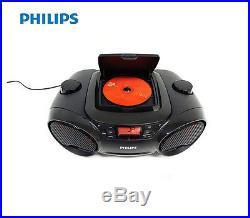 Philips AZ-3811 Portable CD Audio Speaker System USB Direct MP3 Radio Player