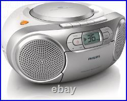 Philips AZ127/05 Portable CD Player with Radio, Soundmachine Autostop