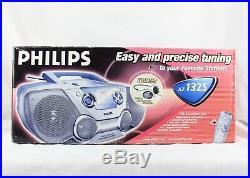 Philips AZ1325 AM/FM CD Player Boombox Portable Radio Stereo BRAND NEW