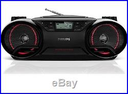 Philips AZ3811 SoundMachine Portable Boombox MP3 CD Player AM/FM Radio Stereo Sp