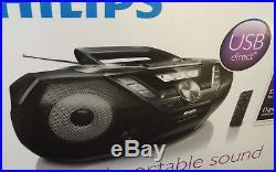 Philips AZ787 Soundmaschine / Boombox mit CD, FB, UKW, USB und OVP