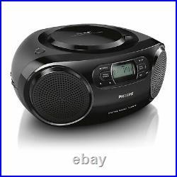 Philips AZB500 Portable CD player Black, 7.62 cm, DAB+External, Portable