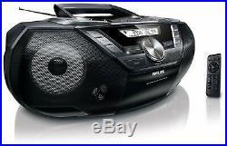 Philips Az787/12 CD Sound Machine Cassette Deck Digital Ukw Usb 12w Boombox