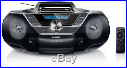 Philips Boombox Az 780/12 Stereo Portatile Lettore CD Mp3 Az780/12