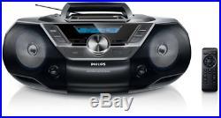 Philips Boombox Az 780/12 Tragbar Stereo CD Player Mp3 Az780/12