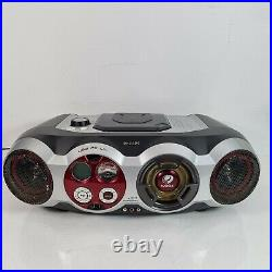 Philips CD Soundmachine AZ2555 Portable Boombox With USB PC Link and game port