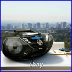 Philips CD Soundmachine BoomBox 12W Portable Speaker DAB+, Bluetooth, CD Player