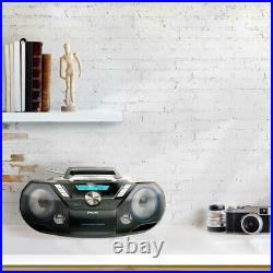 Philips CD Soundmachine BoomBox 12W Portable Speaker with DAB+, Bluetooth, CD
