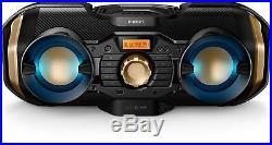Portable Bluetooth Boombox Speaker Wireless Radio USB AUX CD Player Digital 50W