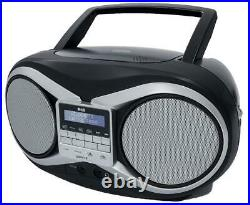 Portable Boombox Cd/dab/fm, Plug Type Uk, CD And Audio Media Players For Groov-e