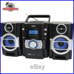 Portable CD MP3 Player With PLL FM Radio Twin Detachable Speakers With Remote