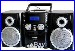 Portable CD Player AM FM Stereo Boombox Radio Cassette Tape Recorder Speaker NEW