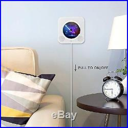 Portable CD Player, Bluetooth Wall Mountable CD Music Player Home Audio Boombox