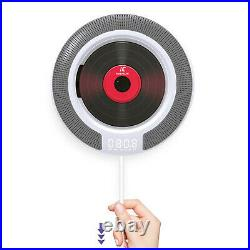 Portable CD Player withBluetooth Audio Boombox Remote Control Home Decor