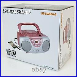 Portable CD-R compatible CD player with AM/FM Radio Boombox