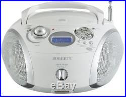 Portable DAB Digital Receiver FM Work Site Radio Hifi Music CD Player Speaker