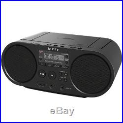 Portable Full Range Stereo Boombox Sound SonySystem with MP3 CD Player AM/FM