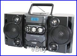Portable MP3/CD Player with AM/FM Stereo Radio and Cassette