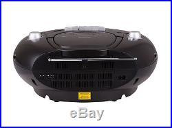 Portable Stereo CD & Cassette player FM AM radio USB MP3 playback Blue